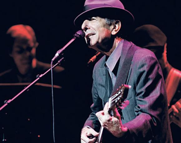 A Tribute To The Music Of Leonard Cohen στο Skrow Theater