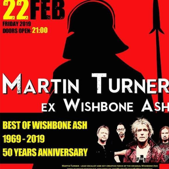 Νέα συναυλιακή αποθέωση του Martin Turner (Wishbone Ash) στο Κύτταρο