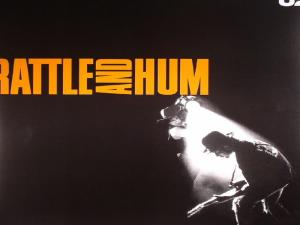 "U2 : ""…In the locust wind, comes a Rattle And Hum"""
